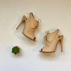 Sophia&Lee peep toe heels | size 9